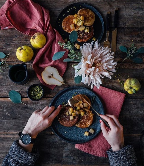 Berlin-based food styling team with over 904 thousand followers. Photo credit: @_foodstories_